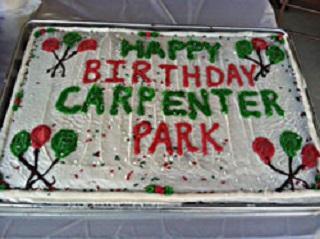 Happy Birthday Carpenter Park